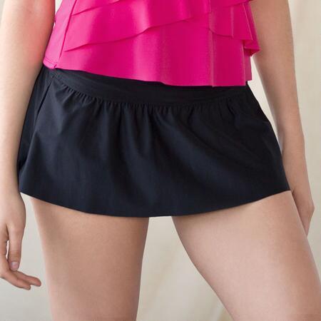Little Black Swim Skirt
