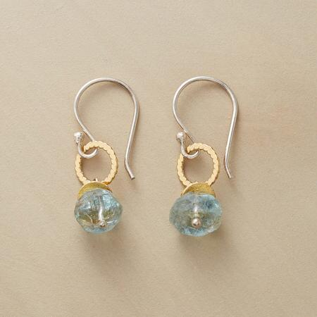 AQUA BUBBLE EARRINGS