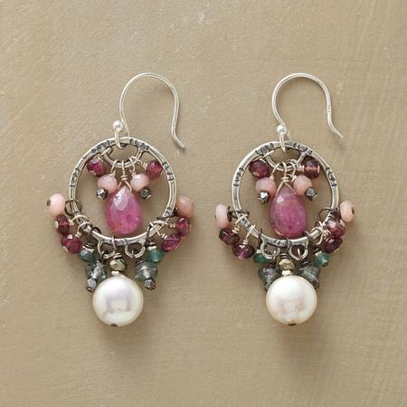 TWO STORY EARRINGS