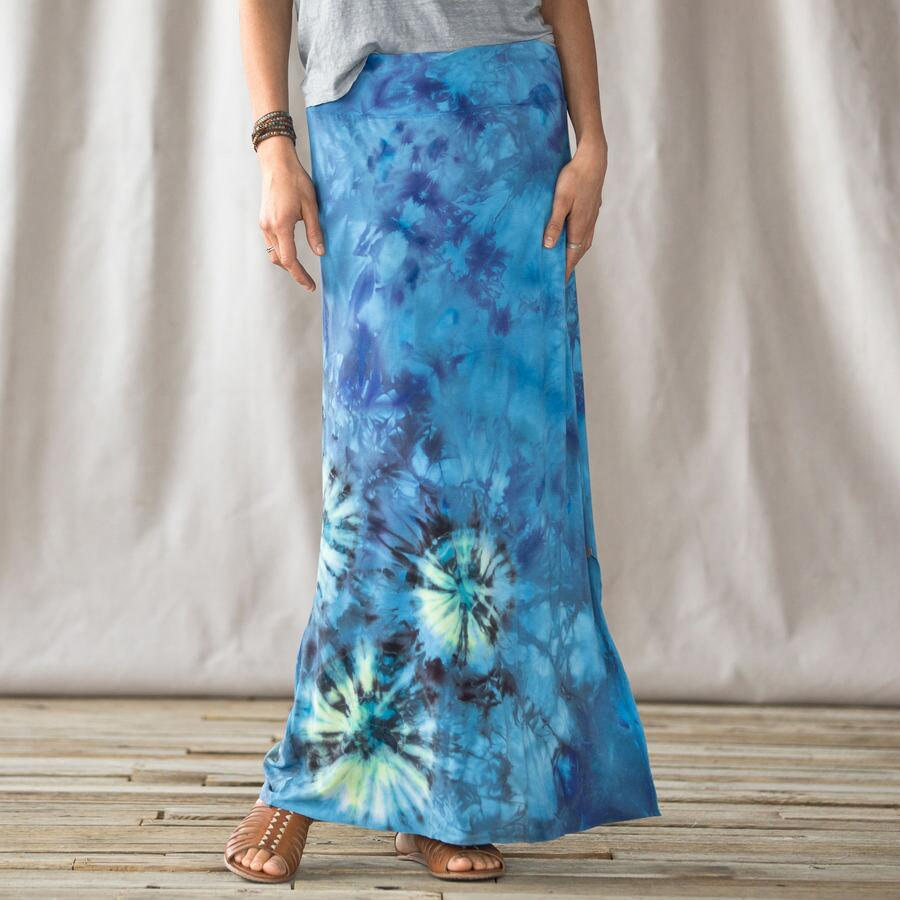 BLUE WATERS MAXI SKIRT