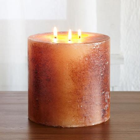 THREE-WICK PILLAR CANDLE