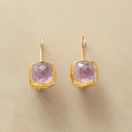 BARONESS AMETHYST EARRINGS