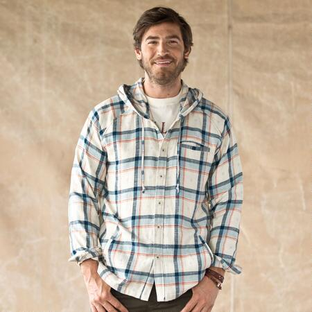 BERKELEY BUTTON-DOWN HOODIE