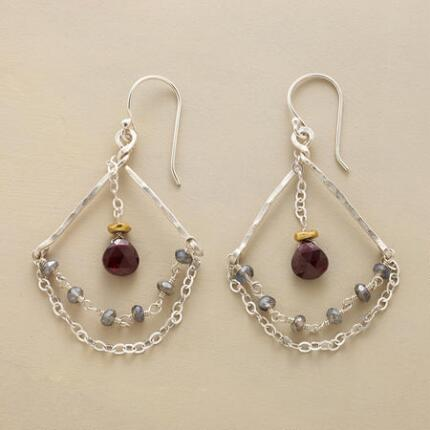 CANDLELIGHT & ROSES EARRINGS
