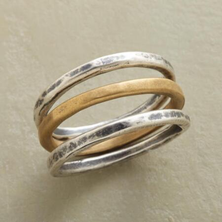 SIMPLY PERFECT RINGS, SET OF 3