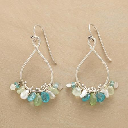 MISTY MONSOON EARRINGS