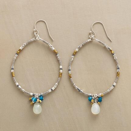 RAINCATCHER HOOP EARRINGS