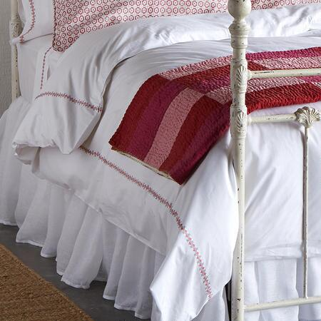 EMILY CROSS-STITCH DUVET COVER