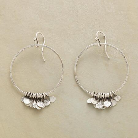 RAINY HOOP EARRINGS