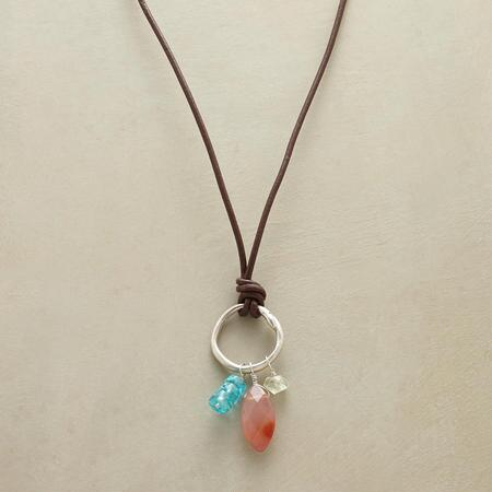 CIRCLE AROUND NECKLACE