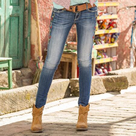 EMBROIDERED SONNET JEANS BY DRIFTWOOD