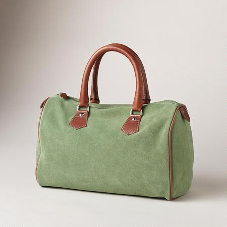 SUEDE CITY STREETS BAG
