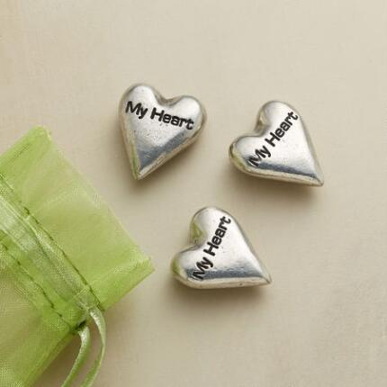 MY HEART TOKENS, SET OF 3