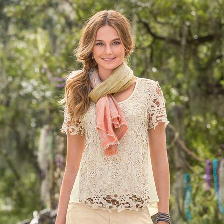 Filigree Lace Top