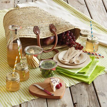 PARTY OF FOUR PICNIC TOTE
