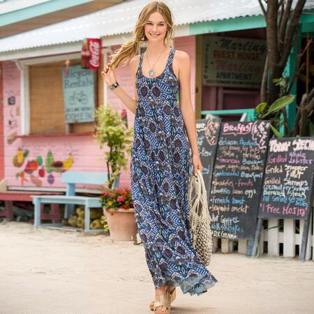 STREETS OF SERENDIPTITY DRESS