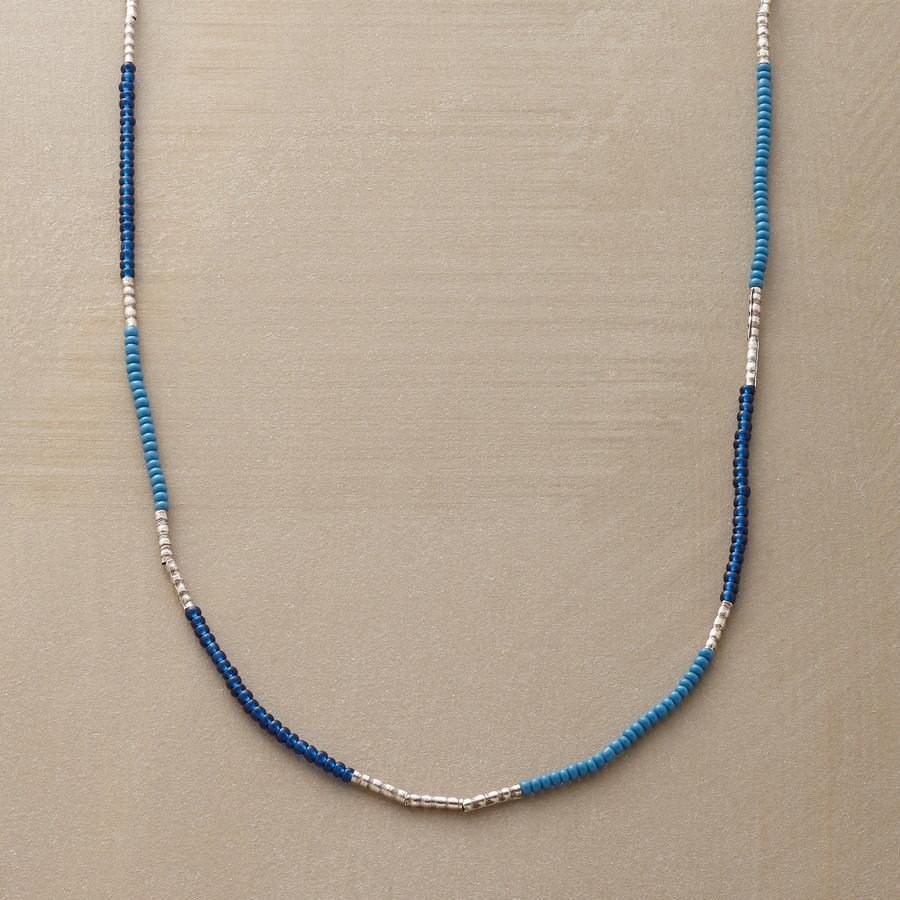 BEATS OF BLUE NECKLACE
