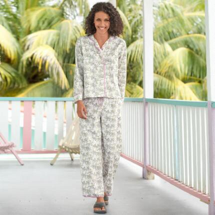 PRETTY POSIES PJ SET