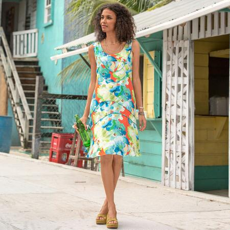 TROPICAL CURRENTS DRESS