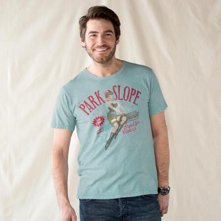 PARK SLOPE PIN UP TEE