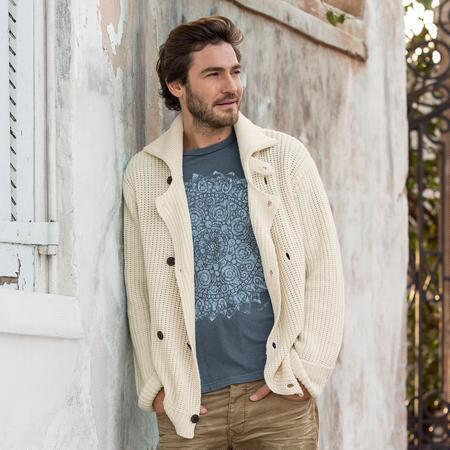 Linen Francois Sweater