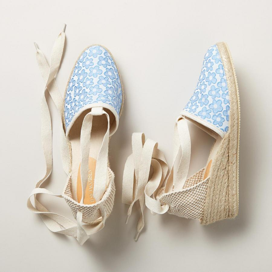 FLOWER PATH ESPADRILLES