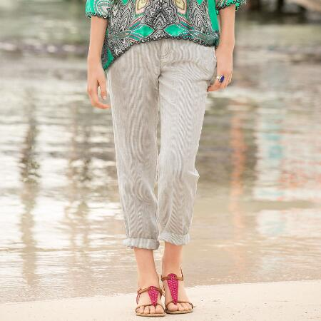 SANDPIPER STRIPED PANTS