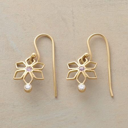 WILD CROCUS EARRINGS