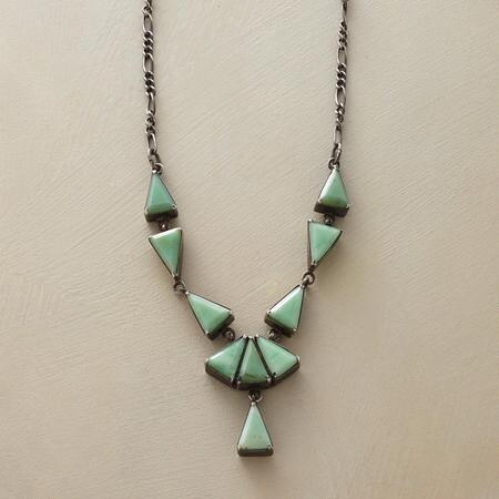 TRIANGULATIONS NECKLACE