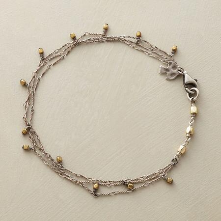 BRASS DROP BRACELET