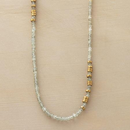 TOUCHES OF BRASS NECKLACE