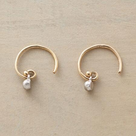 DIAMOND DOT EARRINGS