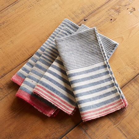 HARBOR STRIPES NAPKINS
