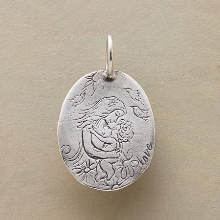 STERLING SILVER MOTHERHOOD CHARM