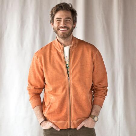 ORANGE YOU GLAD ZIP JACKET