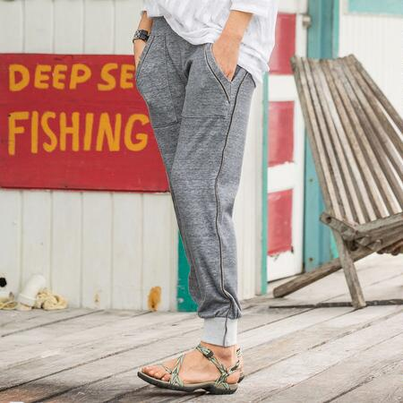 Promenade Zip Pants