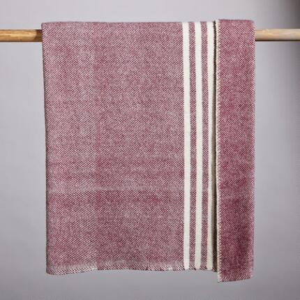 HERITAGE WOOL THROW