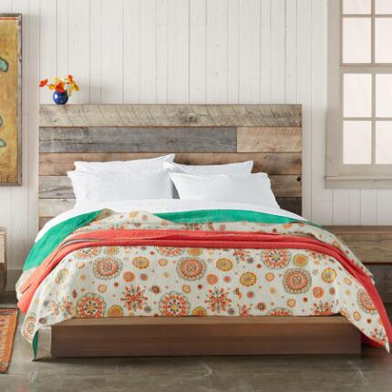 SUNBURST MEDALLION LIGHTWEIGHT QUILT