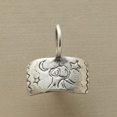 STERLING SILVER MOONDANCE CHARM