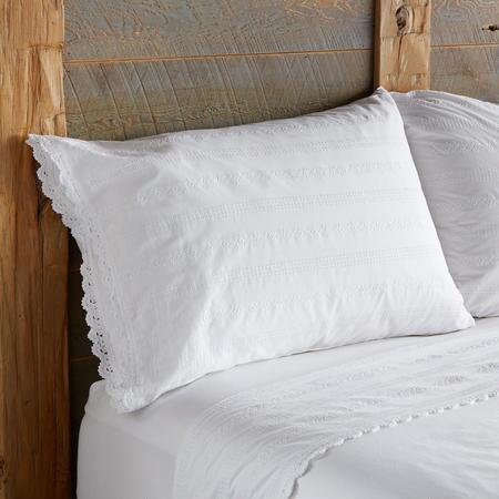 SWEET SIMPLICITY PILLOWCASES, SET OF 2