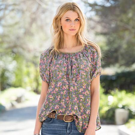TEA ROSE TOP
