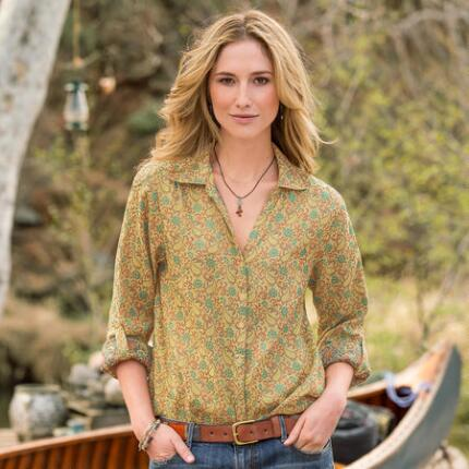 SUNSET JACQUARD SHIRT