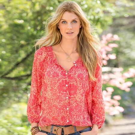 SEEDS OF GLORY PASHA BLOUSE