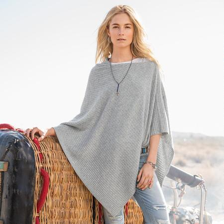 Page Cashmere Poncho