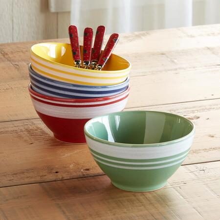 FAVORITE FLAVORS BOWLS, SET OF 4