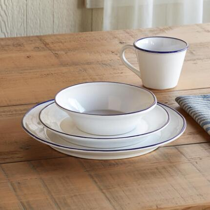 LIGHTHOUSE EARTHENWARE, 4-PIECE PLACE SETTING