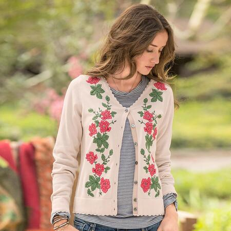 ROSE REVERIE CARDIGAN