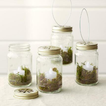 AMAZING MASON JAR TEALIGHTS