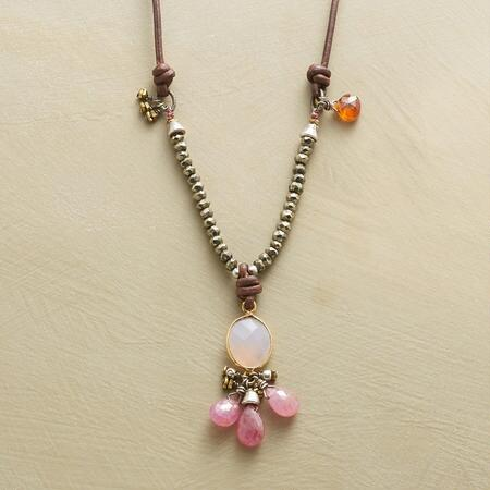 TICKLED PINK NECKLACE