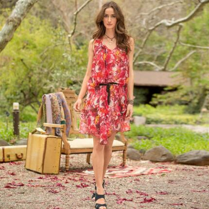 LANGUAGE OF ROSES DRESS
